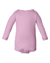 Load image into Gallery viewer, pink long sleeve onesie for babies