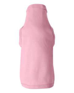 pink doggie skins dog tank top