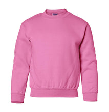Load image into Gallery viewer, pink youth crewneck sweatshirt