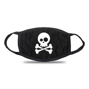 pirate skull face mask