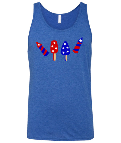 popsicle fireworks tank top