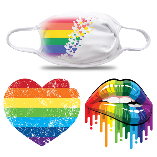 pride face masks