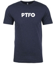 Load image into Gallery viewer, navy ptfo mens crewneck t shirt
