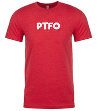 Load image into Gallery viewer, red ptfo mens crewneck t shirt