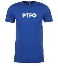 Load image into Gallery viewer, blue ptfo mens crewneck t shirt