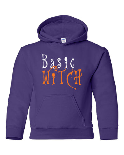 basic witch youth hoodie