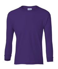 Load image into Gallery viewer, purple youth long sleeve t shirt
