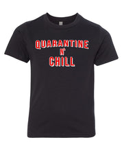 Load image into Gallery viewer, quarantine and chill youth t-shirt