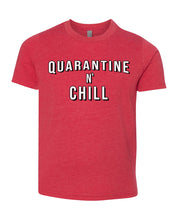 Load image into Gallery viewer, quarantine and chill children's t-shirt