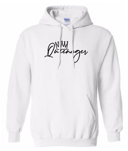 white queen ager hoodie