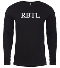 Load image into Gallery viewer, black rbtl mens long sleeve shirt
