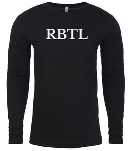 black rbtl mens long sleeve shirt