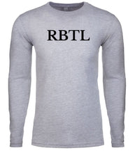 Load image into Gallery viewer, grey rbtl mens long sleeve shirt