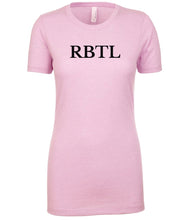 Load image into Gallery viewer, pink rbtl womens crewneck t shirt