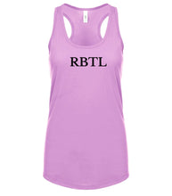 Load image into Gallery viewer, pink RBTL racerback tank top for women