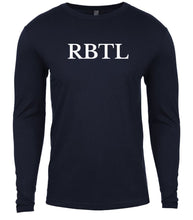 Load image into Gallery viewer, navy rbtl mens long sleeve shirt
