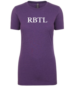 purple rbtl womens crewneck t shirt