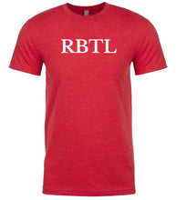 Load image into Gallery viewer, red rbtl mens crewneck t shirt
