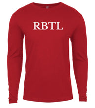 Load image into Gallery viewer, red rbtl mens long sleeve shirt