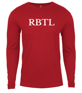 red rbtl mens long sleeve shirt