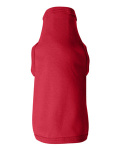 red doggie skins dog tank top
