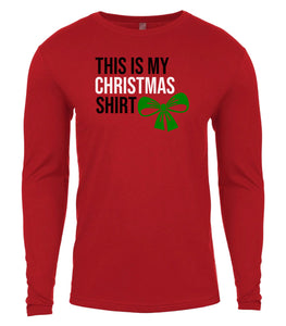 red Christmas shirt for Men