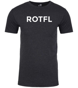 charcoal rotfl mens crewneck t shirt