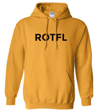 Load image into Gallery viewer, yellow rotfl mens pullover hoodie