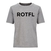 Load image into Gallery viewer, grey ROTFL youth crewneck t shirt for boys