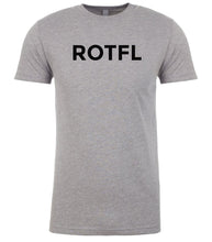 Load image into Gallery viewer, grey rotfl mens crewneck t shirt