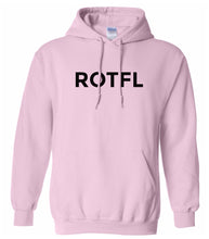 Load image into Gallery viewer, pink ROTFL hooded sweatshirt for women