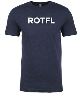 navy rotfl mens crewneck t shirt