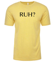 Load image into Gallery viewer, yellow ruh mens crewneck t shirt