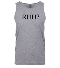 Load image into Gallery viewer, grey ruh mens tank top