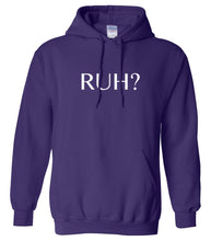 Load image into Gallery viewer, purple RUH hooded sweatshirt for women