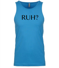 Load image into Gallery viewer, blue ruh mens tank top