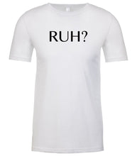 Load image into Gallery viewer, white ruh mens crewneck t shirt