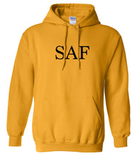 Load image into Gallery viewer, yellow saf mens pullover hoodie