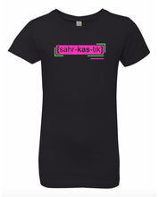 Load image into Gallery viewer, florescent pink sarcastic neon streetwear t shirt for girls