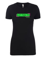 Load image into Gallery viewer, florescent green sarcastic neon streetwear t shirt for women