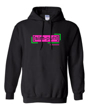 Load image into Gallery viewer, florescent pink simple neon streetwear hoodie