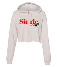 Load image into Gallery viewer, dust single AF cropped hoodie