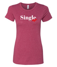 Load image into Gallery viewer, cardinal single AF crewneck women's tee