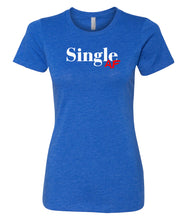Load image into Gallery viewer, royal single AF crewneck women's tee