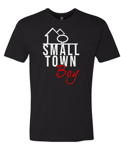black small town boy t-shirt