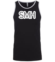 Load image into Gallery viewer, black smh mens tank top