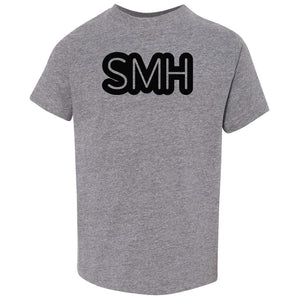 grey SMH crewneck t shirt for toddlers