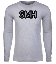 Load image into Gallery viewer, grey smh mens long sleeve shirt