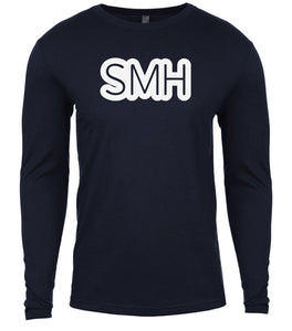 navy smh mens long sleeve shirt
