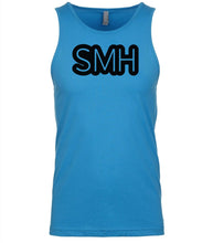 Load image into Gallery viewer, blue smh mens tank top